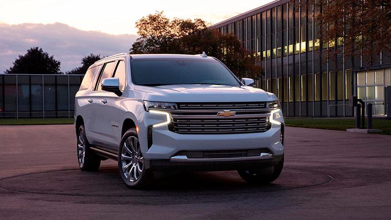 Chevrolet Suburban і Tahoe 2022 року готуються до рестайлінгу
